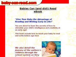 Go to: Baby Can Read.