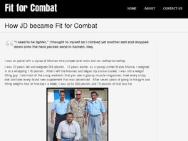 Go to: Fit For Combat System