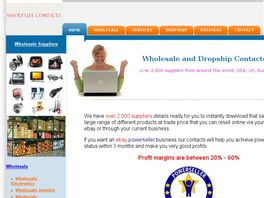 Go to: Wholesale, Dropship Suppliers, Handbags, Electronics, eBay<sup>®</sup> Dropship