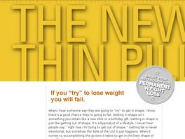 Go to: The New Thin Pill.