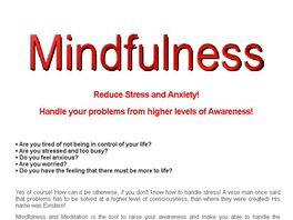 Go to: Learn Mindfulness From An Expert