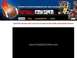 Go to: Football Crusher System - Dominate Nfl And College Football