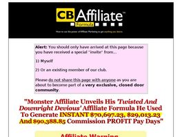Go to: CB Affiliate Formula.
