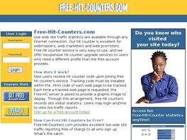 Go to: Free-hit-counters.com.