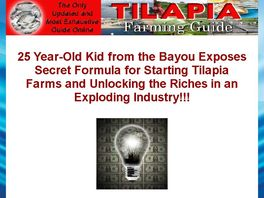 Go to: Tilapia Farming Guide