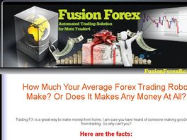 Go to: Fusion Forex Robot