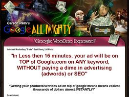 Go to: Gallmighty Software: Get Your Ad On Top Of Google Logo