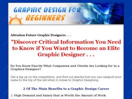 Go to: 'Graphic Design For Beginners' E-Book.