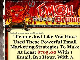 Go to: Email Marketing Demon Video Training Course