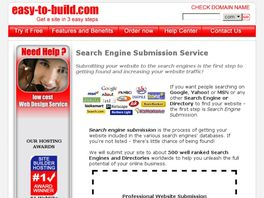 Go to: Submit Your Site To 1000 Search Engines.
