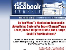 Go to: Getting Facebook Traffic! 50% Comm - Facebook Friendly - And More!