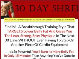 Go to: 30 Day Shred