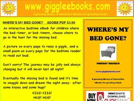 Go to: 'where's My Bed Gone?' An Interactive Ebook For Children.