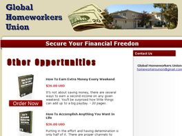Go to: Home Workers Needed