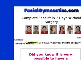 Go to: Facial Gymnastics: Complete Facelift In 7 Days Without Surgery.