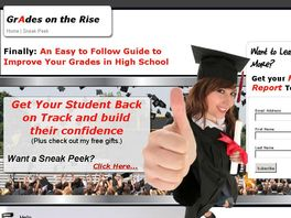 Go to: 75% Payout! Improve Your Grades In 3 Easy Steps