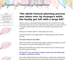 Go to: Final Farewell Step-by-step Guide To Funeral Planning.