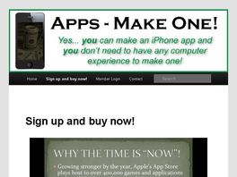 "Go to: The Only ""how To"" Make Iphone/ipad Apps Video Course On Cb!"