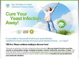 Go to: Cure All Yeast Infections - Big Commissions!