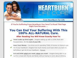 Go to: Heartburn Life Cure - New Sales Copy Converting 1 In 16!!!