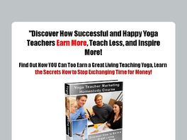 Go to: Yoga Teacher Marketing Homestudy Course