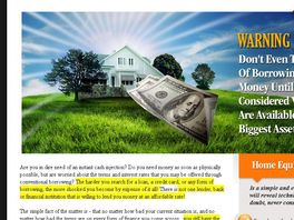 Go to: New Ebook! Home Equity Borrowing Guide - Personal Loans/refinance