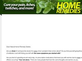 Go to: Home Remedies For Everything