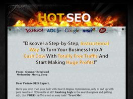Go to: Hot Seo, Search Engine Optimization, Free Traffic.