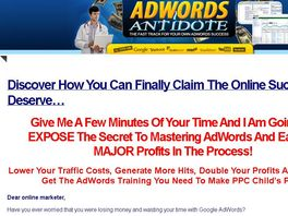 Go to: Adwords Antidote