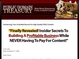 Go to: PublicDomainTreasury.net -- Demystify the Public Domain - 75