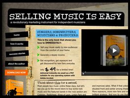 Go to: Selling Music Is Easy!!!