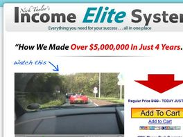 Go to: Nick Taylor's Income Elite System