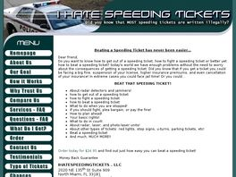 Go to: Beat Any Speeding Ticket 1:50