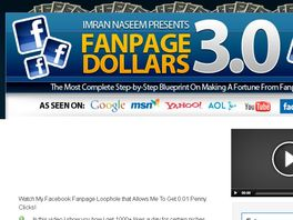 Go to: Fanpage Dollars 3.0 - The Complete Blueprint