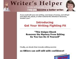 Go to: Get Your Writing Fighting Fit Sbi!