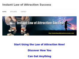 Go to: Instant Law Of Attraction Success