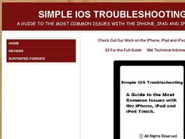 Go to: Guide to the Most Common issues with iPhone, iPad and iPod