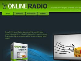 Go to: Online Radio- Online Radio Software