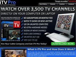 Go to: iTv Pro - New Online Tv Software