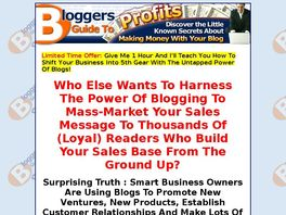 Go to: Bloggers Guide To Profits