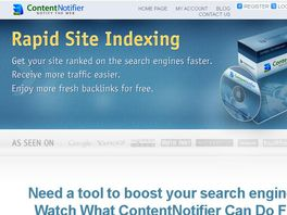 Go to: SEO Software That Helps Any Site Get Indexed And Backlinked Quickly!