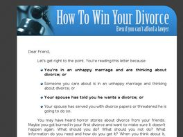Go to: How To Win Your California Divorce, The Beginner's Guide