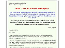 Go to: How to Survive Bankruptcy