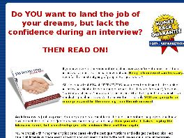 Go to: Job Interviews Made Easy!