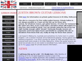 Go to: 10-Week Guitar Course For Complete Beginners.
