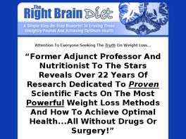 Go to: Right Brain Diet.