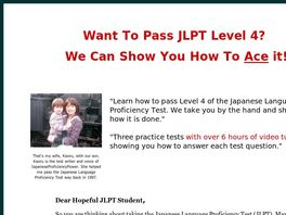Go to: Japanese Proficiency Power