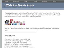 Go to: I Walk the Streets Alone