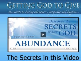 Go to: Getting God To Give