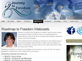 "Go to: ""roadmap To Freedom"" Weekly Webcasts For Abused Women"
